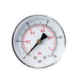 TS-Y50Z8-15 / 30/60/100/160 / 300psi 52mm Dial 1/8 BSPT Manômetro