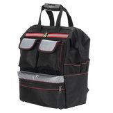 متعددة الوظائف أكسفورد القماش مزدوجة أكتاف أداة حقيبة تخزين حقيبة الظهر كهربائيين الحفاظ على حقائب أداة المحمولة