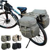 屋外マウンテンバイクショルダーバッグNylon自転車テールシートバッグスポーツ自転車バッグ