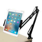 Desktop 360 Degree Rotating Lazy Arm Tablet Stand Phone Holder for 4.0-12.9 Inch Smart Phone Tablet for iPhone for Samsung for iPad Pro