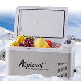 DC 12V / 24V Alpicool 18L draagbare vriezer koelkast Mini koelkasten voor Home Camping Car Boating Caravan