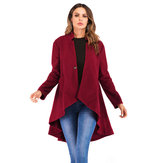 Fashion Irregular A-line Coats for Women