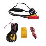 170° CMOS Car Rear View Backup Camera Reverse 8 LED Night Vision Waterproof