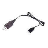 HS 7.4V 2S Li-ion البطارية شاحن USB شحن Cable for 18301 18302 18311 18312 1/18 RC Car Parts