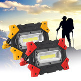 Foldable COB LED Work Light Portable 3 Modes Flood Lamp for Outdoor Camping Emergency