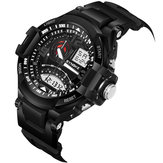 Orologio SYNOKE 9601 Fashion Uomo Waterproof Sport Dual Display