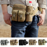 Multi-Pockets Tactical Waist Bag Water Bottle Holder Kettle Pouch Outdoor Hunting Hiking