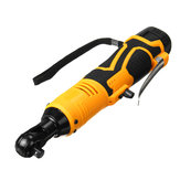 18V Power Cordless Ratchet Wrench Li-ion Electric Wrench 4200mah Max. Torque 65 Compact Size Battery and Charger