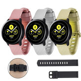 Bakeey 20mm Width Universal Pure TPU Watch Band Strap Replacement for Samsung Galaxy Watch
