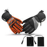 Elektrisch beheizte Handschuhe Motorrad Winter wasserdicht Thermal Outdoor Ski Warmer