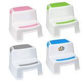 2 stopnie podwójny stołek plastikowy 280 funtów Dwupoziomowy dla dzieci Antypoślizgowa drabina do łodzi dla dzieci Małe artykuły gospodarstwa domowego na krzesła