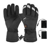 M/L 5 Level Electric Heating Gloves Outdoor Skiing Waterproof Winter Heated Hand Warmer Non-slip