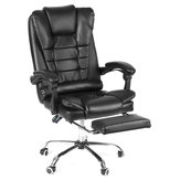 Ergonomic High Back Reclining Office Boss Chair Adjustable Height Rotating Lift Chair PU Leather Gaming Chair Laptop Desk Chair with Footrest