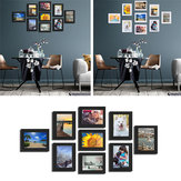 9 Pcs DIY Multi Photo Frame Set Hanging Picture Modern Display Wall Art Home Decorations