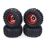 1/10 2.2Inch RC Car Wheel Tires For Redcat HPI FTX Mauler TRX4 RGT Traction Hobby Founder II Axial SCX10 II VRX Racing