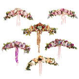 Artificial Flowers Garland European Lintel Wall Flower Door Wreath for Wedding Home Christmas Decor Supplies