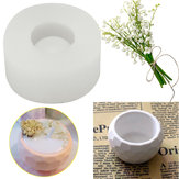 3D Handmade Silicone Vela Sabão Molde para vaso de flores que molda o molde de copo de concreto
