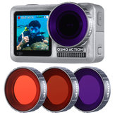 Ulanzi OA-9 Purple Red Magenta Dive Lens Filter Kit til DJI Osmo Action Sports Camera