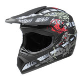 Helm Sepeda Motor Full Face Racing Motocross Keselamatan Modular Flip Up