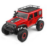Wltoys 104311 1/10 2.4G 4X4 Crawler RC Car Desert Rock Rock Models Models with Two Motors LED Head ضوء