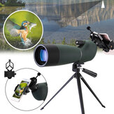 LUXUN 25-75X70  HD Waterproof BAK4 Optic Zoom Len Monocular Eyepiece Telescope
