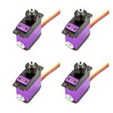 4PCS MG91 13g 2.6KG Couple Metal Gear Digital Servo pour RC Model Robot d'avion