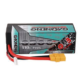 Gaoneng GNB 14.8V 6500mAh 110C 4S Lipo البطارية XT90 Plug for 1: 8 RC Car RC Aircraft