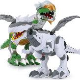 رذاذ ديناصور الكهربائية المشي ديناصور النار التنفس رذاذ الماء ضباب مع الأحمر ضوء والأصوات واقعية الديناصور اللعب