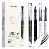 XM Ecosystem Deli S858 1 Piece Full Needle Gel Pen 0.5mm Nib Writing Signing Pens Kontor Skoleartikler