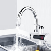 3000 W 220 V LED Display Torneira de Aquecimento Instantâneo Elétrico Torneira Água Quente Torneira Aquecedor Aquecimento de Água