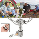 Mini Folding Camping Cooking Stove Picnic Burner With Storage Box