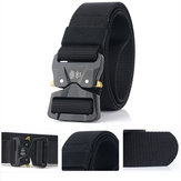 125CM 3.8CM Tactical Men Belts Nylon Cinto ajustável