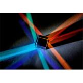 15mm Cube Luce prismatica combinata Cube Giocattoli prisma a sei facce con fascio luminoso a sei facce