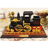 Vintage Classic Train Mechanical Music Box Home Decoration Christmas Valentine's