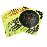 10 PCS Menembak Sasaran Perekat Target Spatter Sasaran Kertas Stiker 20 * 20 CM