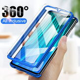 Bakeey 360° Full Body PC Protective Case+Tempered Glass Screen Protector For Xiaomi Redmi Note 8 Pro