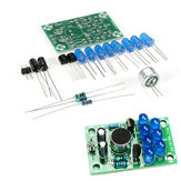 5pcs DIY Electronic Kit Set Voice-activated Melody Light Fun Soldering Practice Production Board Training Parts
