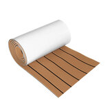 270cmx30cmx6mm EVA Foam Flocking Decking Sheet Marine barco Faux Teak
