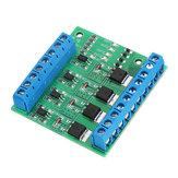 MOS FET F5305S 4-kanałowy moduł sterujący przełącznikiem wyzwalacza impulsów PWM Wejście stałe dla diody LED silnika Moduł elektroniczny