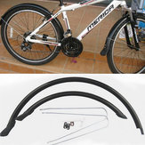 20'' Folding Bike Front & Rear Mudguards Set Cycling Permanent Fender Mud