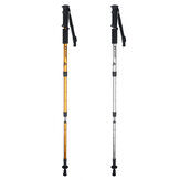Telescopic Hiking Walking Stick Trekking Pole Alpenstock