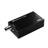 BIAZE HQ12 SDI HD Dönüştürücü HD 1080P 3G-SDI Yayın Ses Video Senkronizasyon Adaptörü için Gözetim Kamera TV
