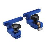 Arresto binario in lega di alluminio blu per utensile per la lavorazione del legno a T con scanalatura a T 30/45