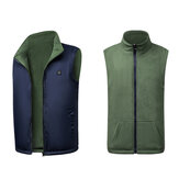 Electric USB Winter Heated Vest Men Women Heating Jacket Winter Body Warmer