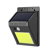 Outdoor Solar 20 LED Motion Sensor Light IP65 Waterproof Walkway Panel Wall Lamp Night Light