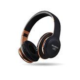 מתקפל bluetooth 5.0 אוזניות מצב כפול Hifi אוזניות סטריאו אלחוטיות עם תמיכת מיקרופון רדיו FM