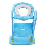 Sedile da allenamento pieghevole per bambini Vasino per bambini con scaletta regolabile Sedili di formazione vasino per orinatoio portatili per bambini