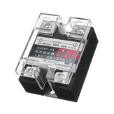 Single-Phase Solid State Relay 24-380VAC SSR-40A AC Control DC Heat Sink Relay