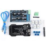 Upgrated Cloned RE-ARM 32Bit Controlador Mainboard + TMC2218 V1.2 + Ramps1.5 Board Kit para Ramps 1.4 1.5 1.6 3D impressora