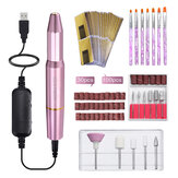 Electric Nail File Drill Kit Machine Manicure Set